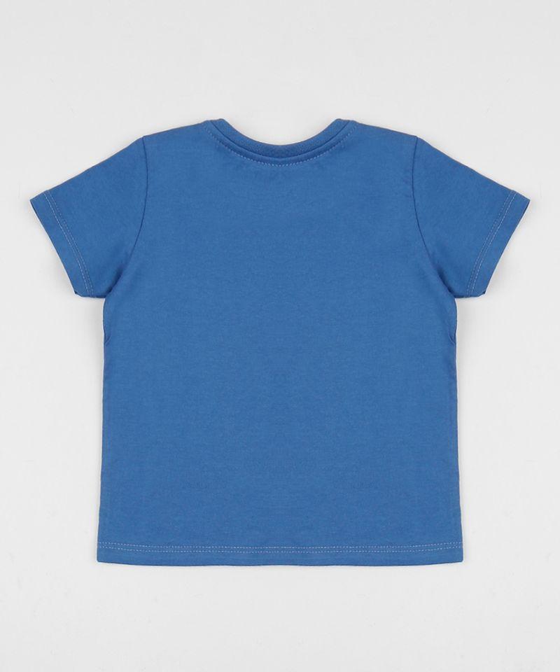 Camiseta-Infantil-Donald-e-Mickey-Manga-Curta-Gola-Careca-Azul-9956113-Azul_2