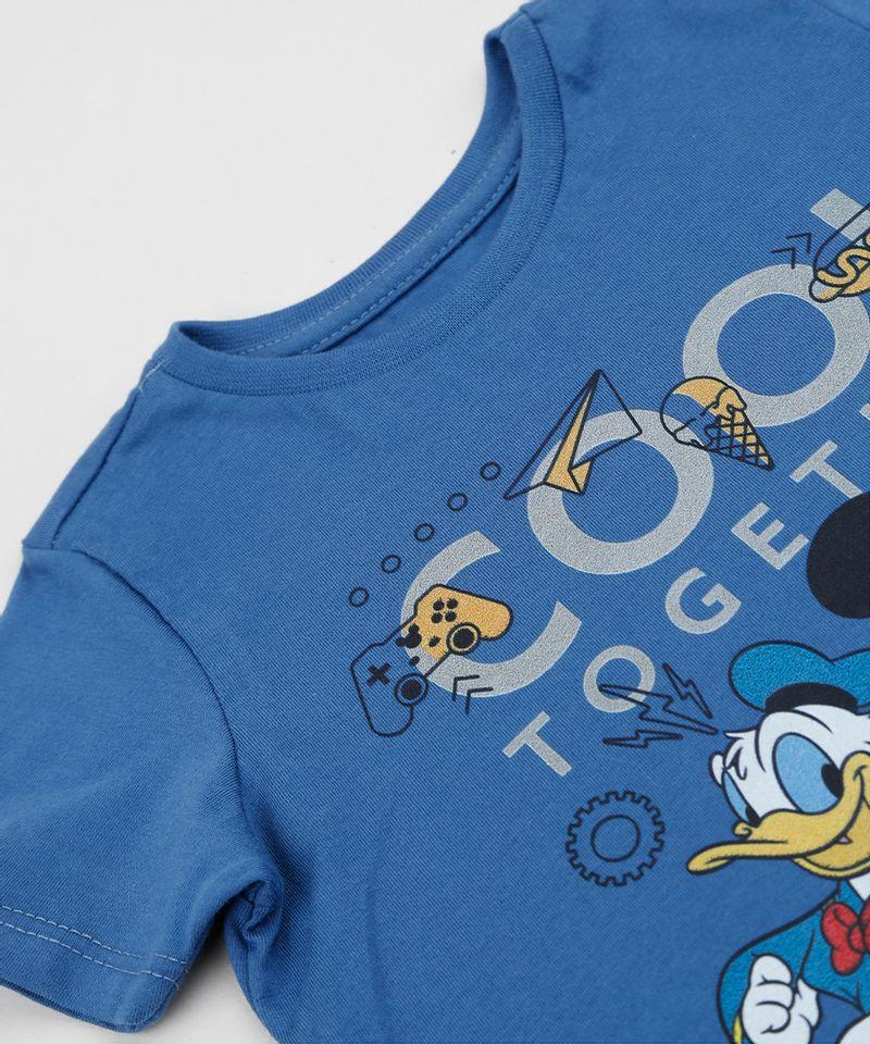 Camiseta-Infantil-Donald-e-Mickey-Manga-Curta-Gola-Careca-Azul-9956113-Azul_5