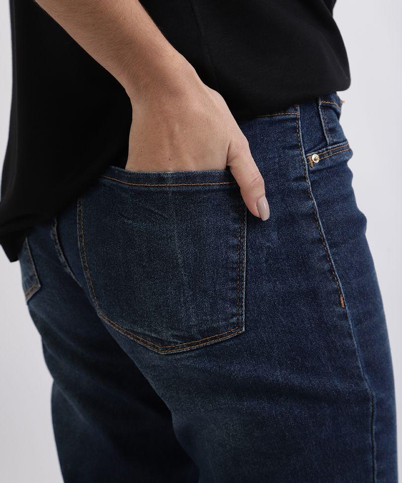 Calca-Jeans-Feminina-Cigarrete-Cintura-Alta-Azul-Medio-9949330-Azul_Medio_4