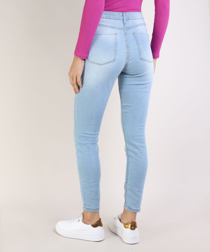 Calca-Jeans-Feminina-Cigarrete-Cintura-Media-Azul-Claro-9936228-Azul_Claro_2