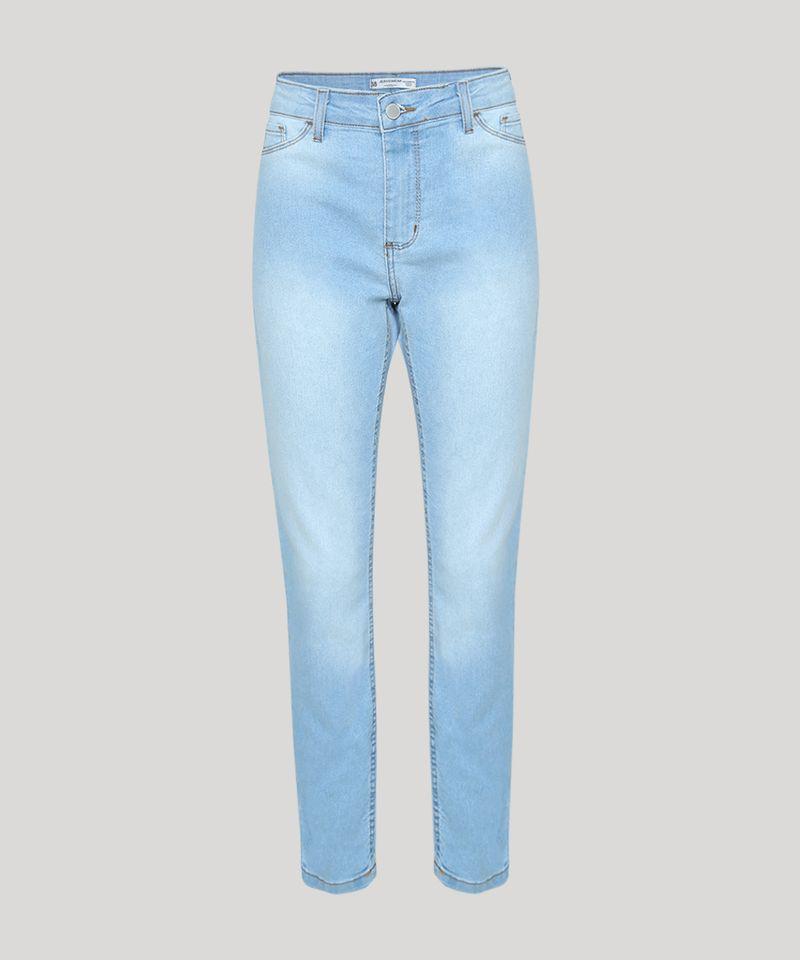 Calca-Jeans-Feminina-Cigarrete-Cintura-Media-Azul-Claro-9936228-Azul_Claro_5
