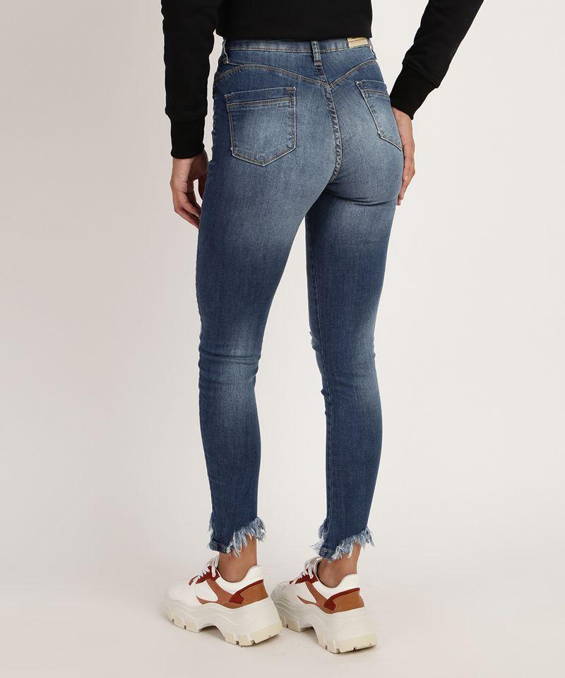 Calca-Jeans-Feminina-Sawary-Cigarrete-Cintura-Alta-Destroyed-Azul-Escuro-9952538-Azul_Escuro_2