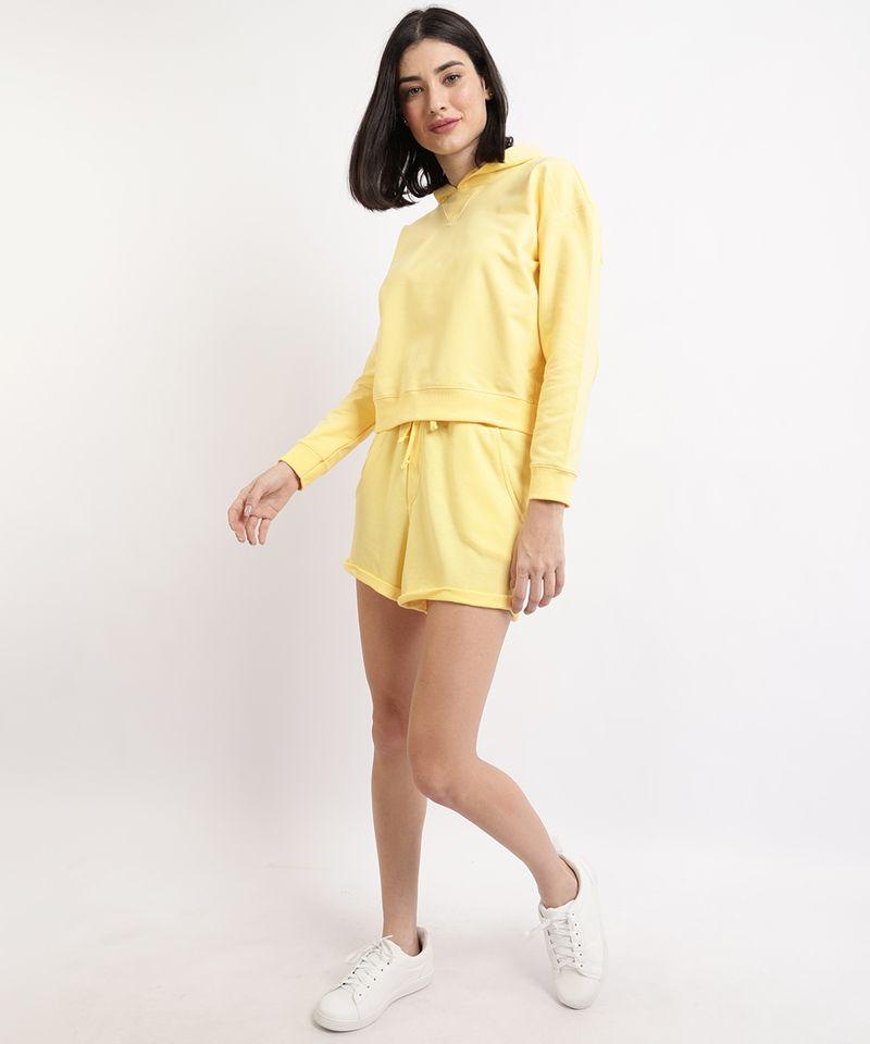Blusao-de-Moletom-Feminino-Basico-Cropped-com-Capuz-Amarelo-9941971-Amarelo_3