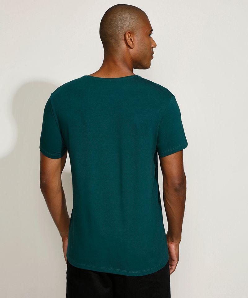 Camiseta-Masculina-Basica-Manga-Curta-Gola-Careca-Verde-Escuro-9209153-Verde_Escuro_2