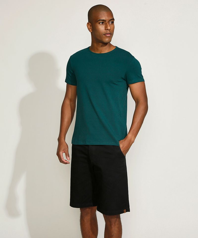 Camiseta-Masculina-Basica-Manga-Curta-Gola-Careca-Verde-Escuro-9209153-Verde_Escuro_3