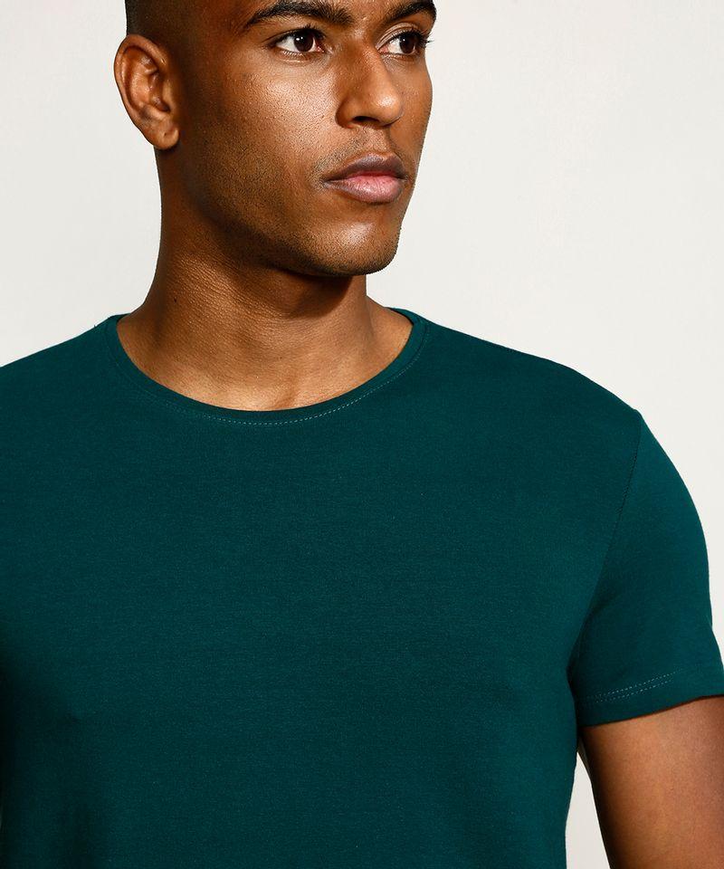 Camiseta-Masculina-Basica-Manga-Curta-Gola-Careca-Verde-Escuro-9209153-Verde_Escuro_4
