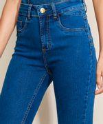 Calca-Jeans-Feminina-Sawary-Cigarrete-Cintura-Alta-com-Pences-Azul-Medio-9974032-Azul_Medio_4