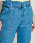 Calca-Jeans-Feminina-Clochard-Cintura-Super-Alta-com-Cinto-Azul-Medio-9945834-Azul_Medio_4