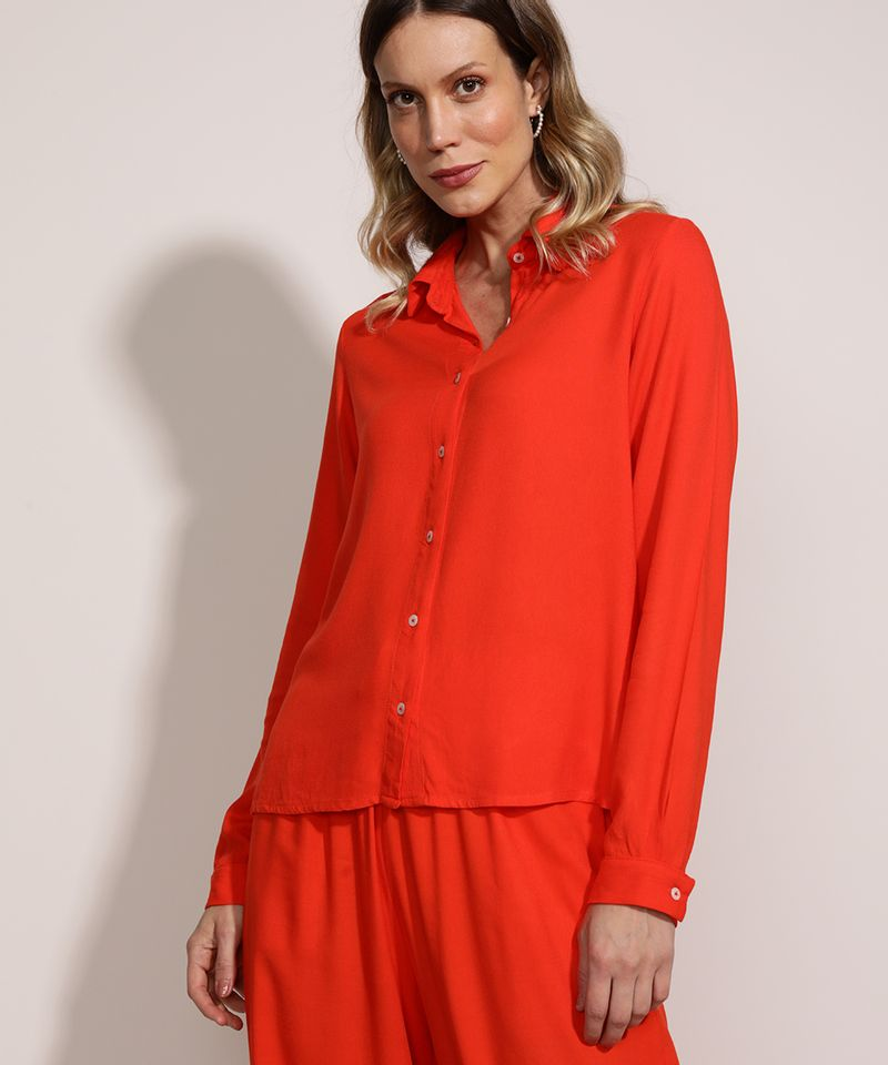Camisa-Feminina-Ampla-Manga-Longa-Laranja-9961410-Laranja_5