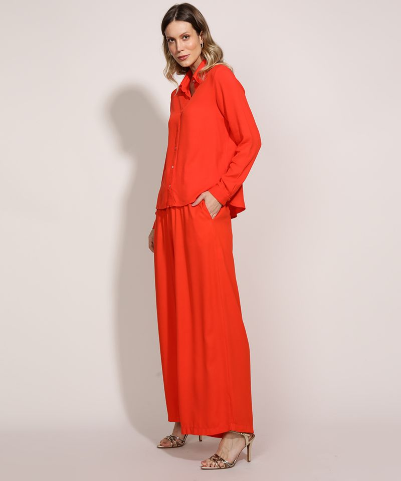 Camisa-Feminina-Ampla-Manga-Longa-Laranja-9961410-Laranja_6
