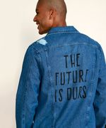 Jaqueta-Jeans-Masculina-Trucker-Destroyed--The-Future-is-Ours--com-Certificacao-C2C™-Azul-Medio-9957128-Azul_Medio_2