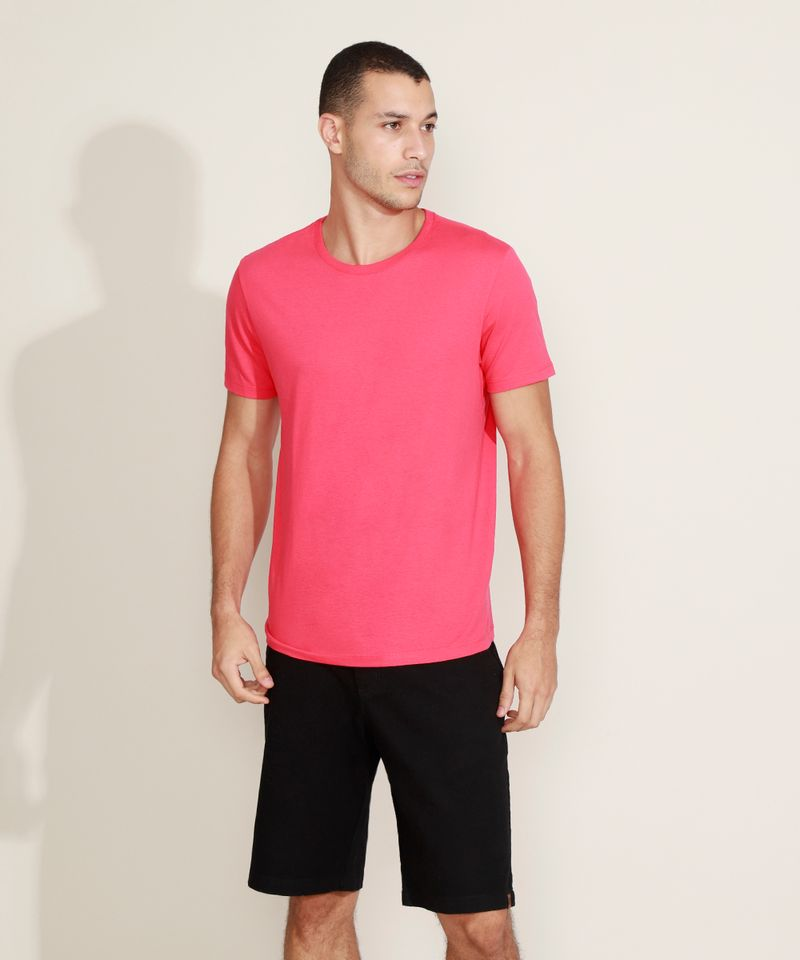 Camiseta-Masculina-Basica-Manga-Curta-Gola-Careca-Vermelha-9947820-Vermelho_3