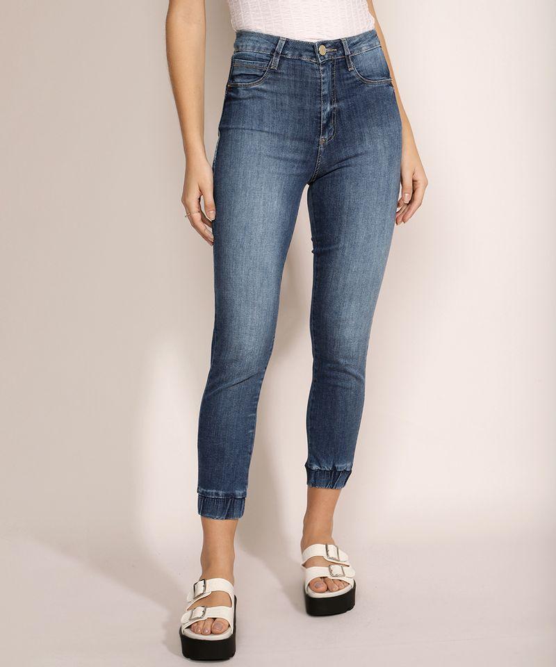 Calca-Jeans-Feminina-Sawary-Lipo-Jogger-Cintura-Alta--Azul-Escuro-9969406-Azul_Escuro_1