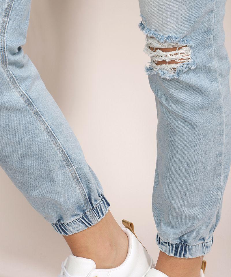 Calca-Jeans-Feminina-Jogger-Skinny-Destroyed-Cintura-Media-Azul-Claro-9964633-Azul_Claro_5