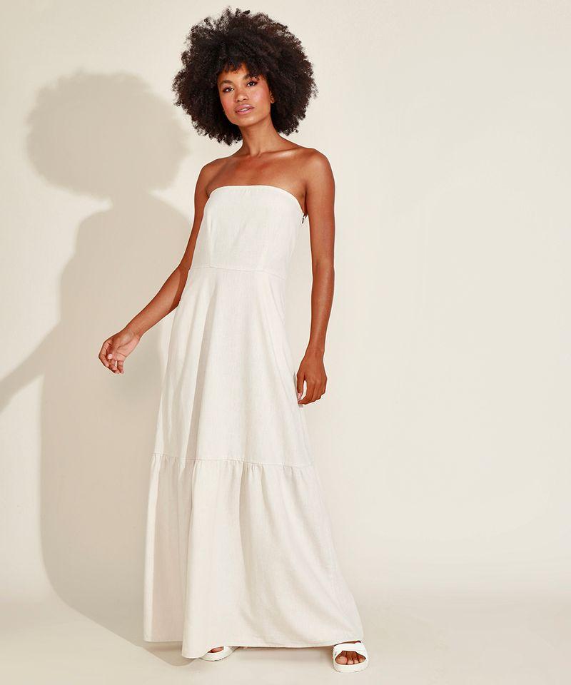 Vestido-Feminino-Mindset-Longo-Tomara-que-Caia-com-Recorte-e-Bolsos-Off-White-9976990-Off_White_1