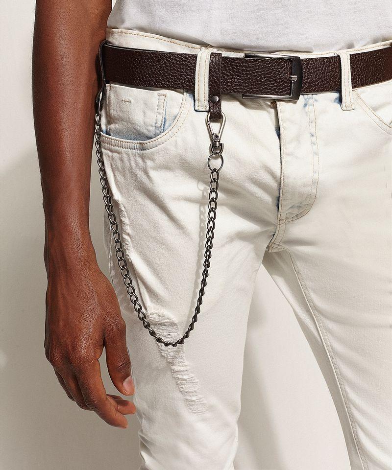 Calca-Jeans-Masculina-Super-Skinny-Destroyed-com-Cinto-e-Corrente-Azul-Claro-9966119-Azul_Claro_6