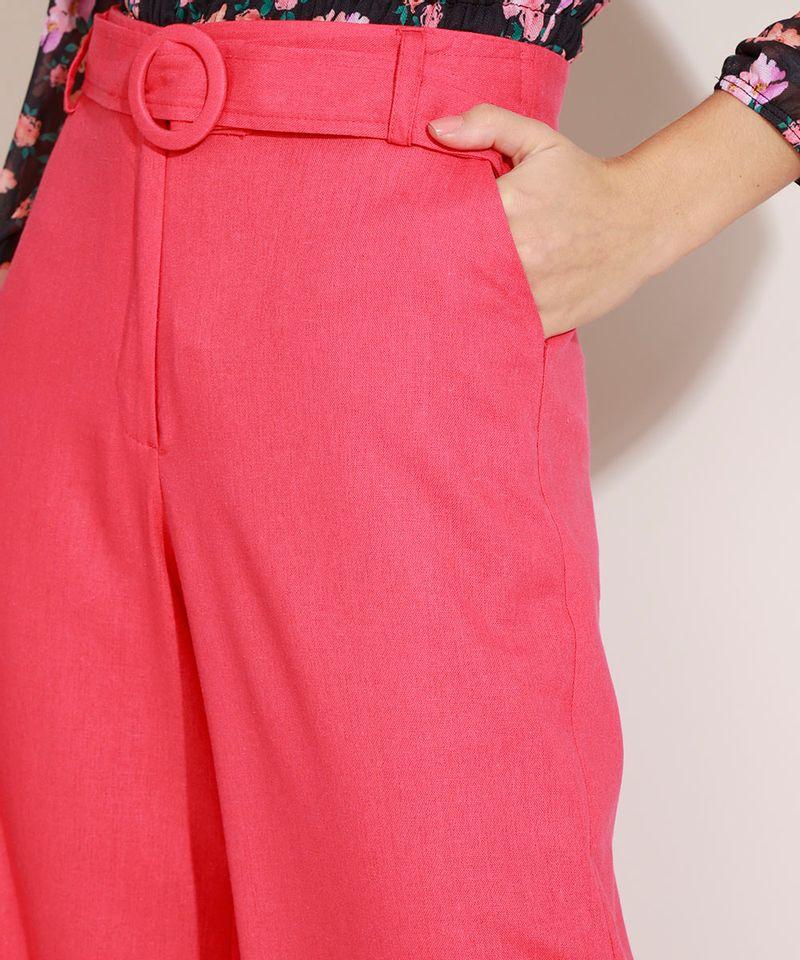 Calca-Feminina-com-Linho-Pantalona-Cintura-Super-Alta-e-Faixa-Rosa-Claro-9962524-Rosa_Claro_4