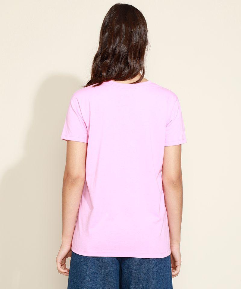 T-Shirt-Feminina-Mindset--Hair-Care--Manga-Curta-Decote-Redondo-Rosa-9974966-Rosa_2