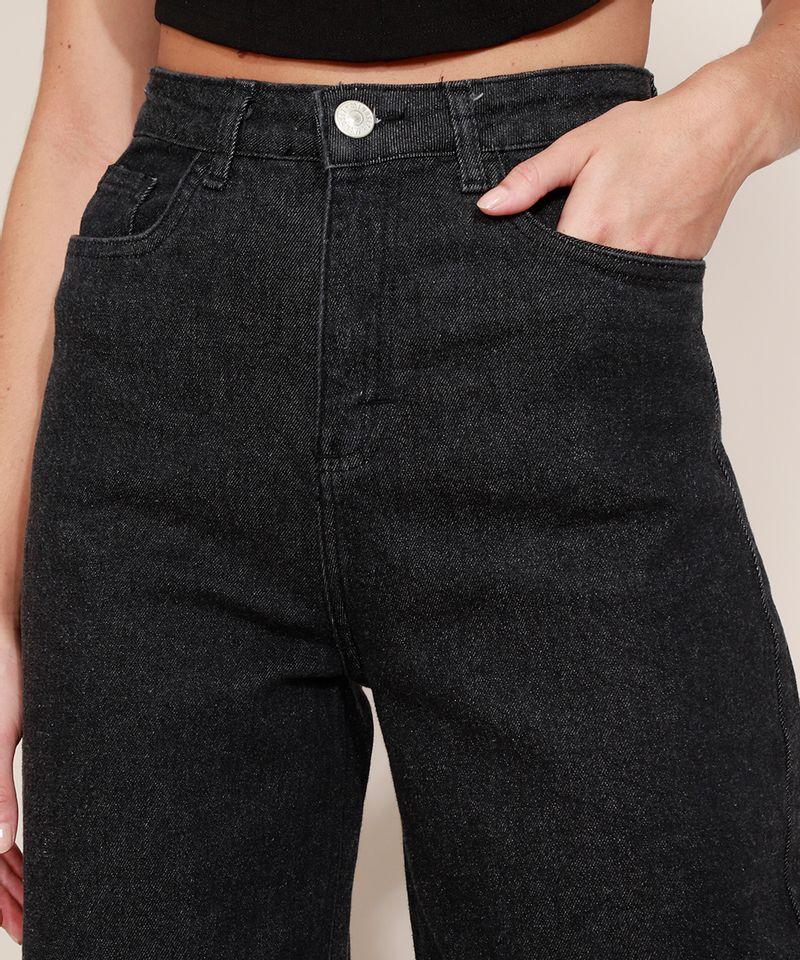Calca-Jeans-Feminina-Mindset-Wide-Reta-Cintura-Super-Alta-Preta-9980412-Preto_4