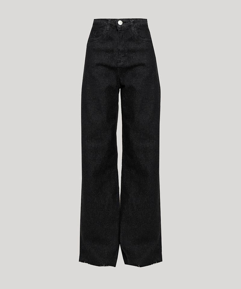 Calca-Jeans-Feminina-Mindset-Wide-Reta-Cintura-Super-Alta-Preta-9980412-Preto_6