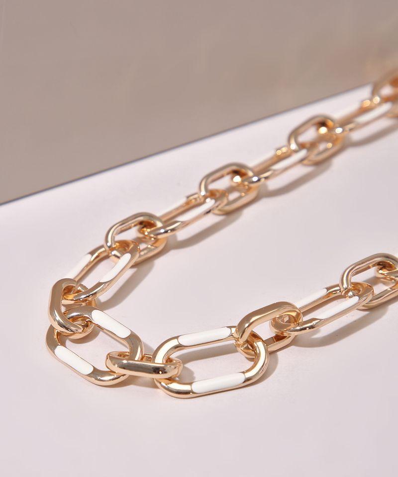 Colar-Feminino-Corrente-com-Elos-Grandes-Dourado-9962206-Dourado_1