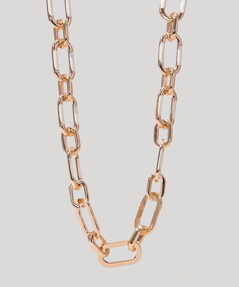 Colar-Feminino-Corrente-com-Elos-Grandes-Dourado-9962206-Dourado_2