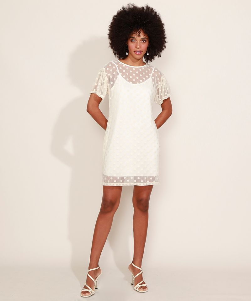 Vestido-em-Tule-Poa-Feminino-Curto-Manga-Curta-Bufante-Off-White-9973120-Off_White_3