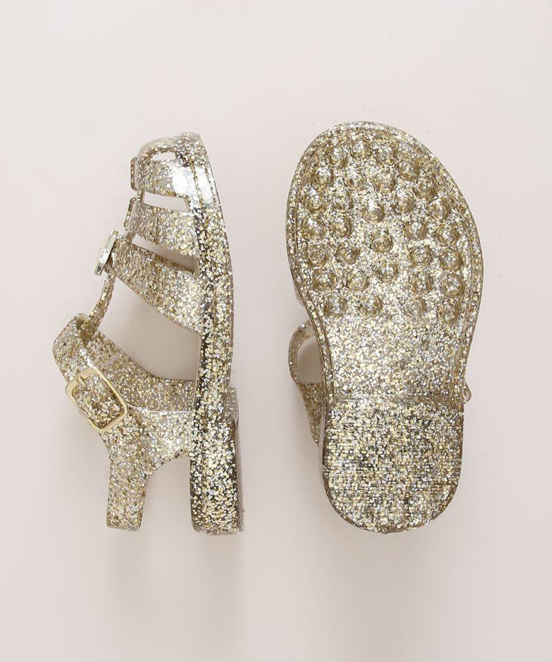 Sandalia-Infantil-de-Tiras-com-Glitter-Dourada-9973049-Dourado_6