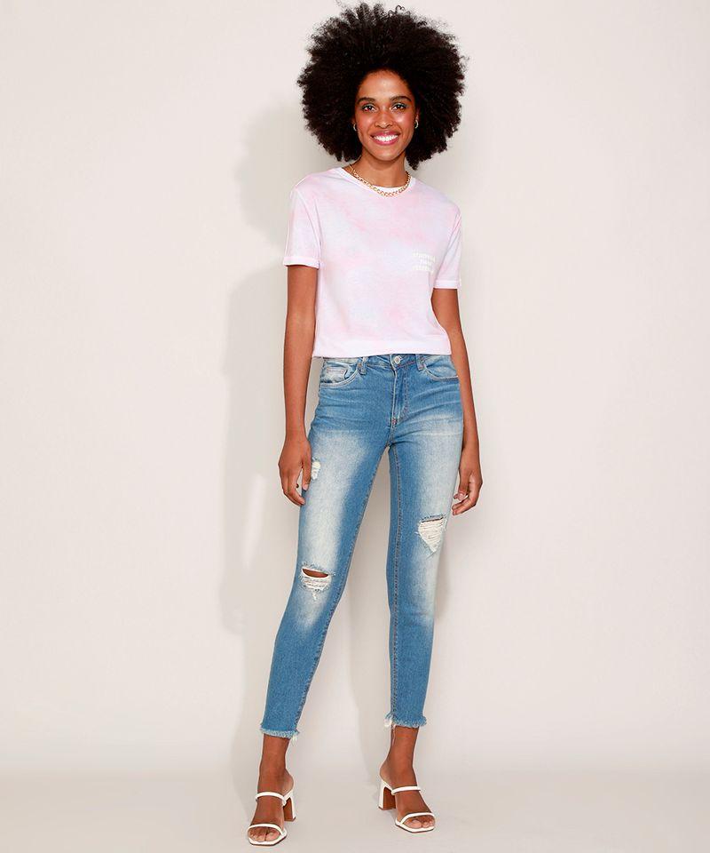 Calca-Jeans-Feminina-Cigarrete-Destroyed-com-Bolsos-Azul-Medio-9932022-Azul_Medio_3