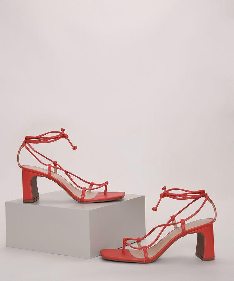 Sandalia-Feminina-Oneself-Salto-Reto-Medio-com-Amarracao-Vermelha-9977084-Vermelho_1