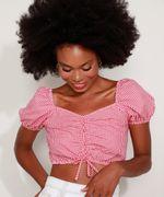 Blusa-feminina-Cropped-Estampada-Xadrez-Vichy-Manga-Bufante-Decote-Princesa-Vermelha-9967941-Vermelho_6