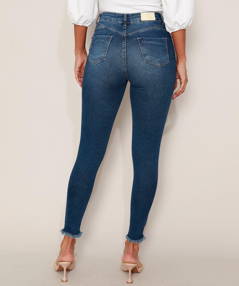 Calca-Jeans-Feminina-Sawary-Cigarrete-Push-Up-Super-Lipo-Cintura-Alta-Destroyed-Azul-Escuro-9980183-Azul_Escuro_2