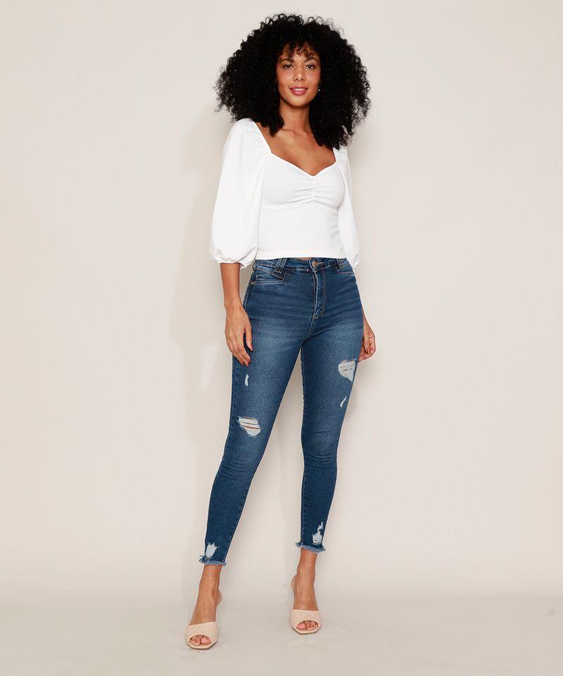 Calca-Jeans-Feminina-Sawary-Cigarrete-Push-Up-Super-Lipo-Cintura-Alta-Destroyed-Azul-Escuro-9980183-Azul_Escuro_3