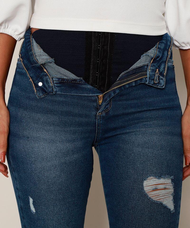 Calca-Jeans-Feminina-Sawary-Cigarrete-Push-Up-Super-Lipo-Cintura-Alta-Destroyed-Azul-Escuro-9980183-Azul_Escuro_6