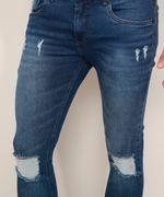 Calca-Jeans-Masculina-Super-Skinny-Destroyed-Azul-Escuro-9967890-Azul_Escuro_6