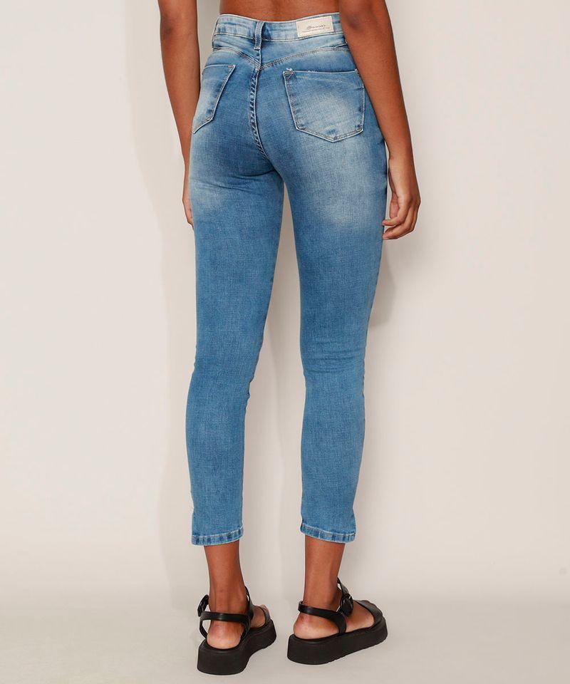 Calca-Jeans-Feminina-Sawary-Cigarrete-Push-Up-Super-Lipo-Cintura-Alta-com-Rasgos-Azul-Medio-9980181-Azul_Medio_2