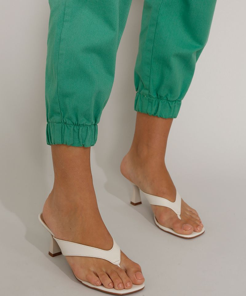 Calca-de-Sarja-Feminina-Mom-Jogger-Cintura-Super-Alta-Verde-9977048-Verde_4