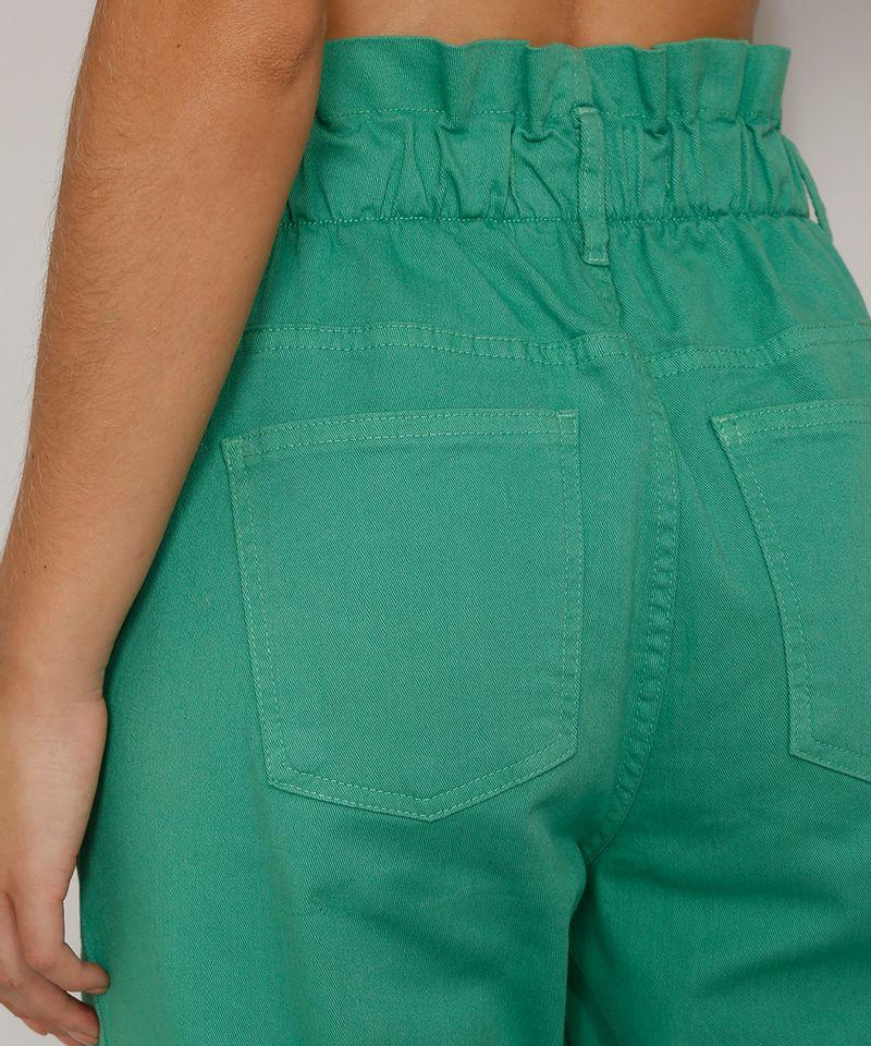 Calca-de-Sarja-Feminina-Mom-Jogger-Cintura-Super-Alta-Verde-9977048-Verde_6