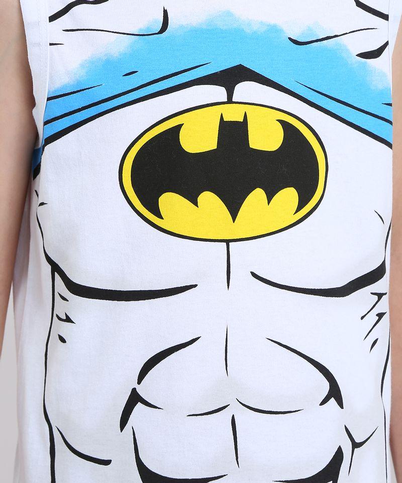 Conjunto-Batman-de-Regata-Branca---Bermuda-em-Moletom-Preta-8403980-Preto_3