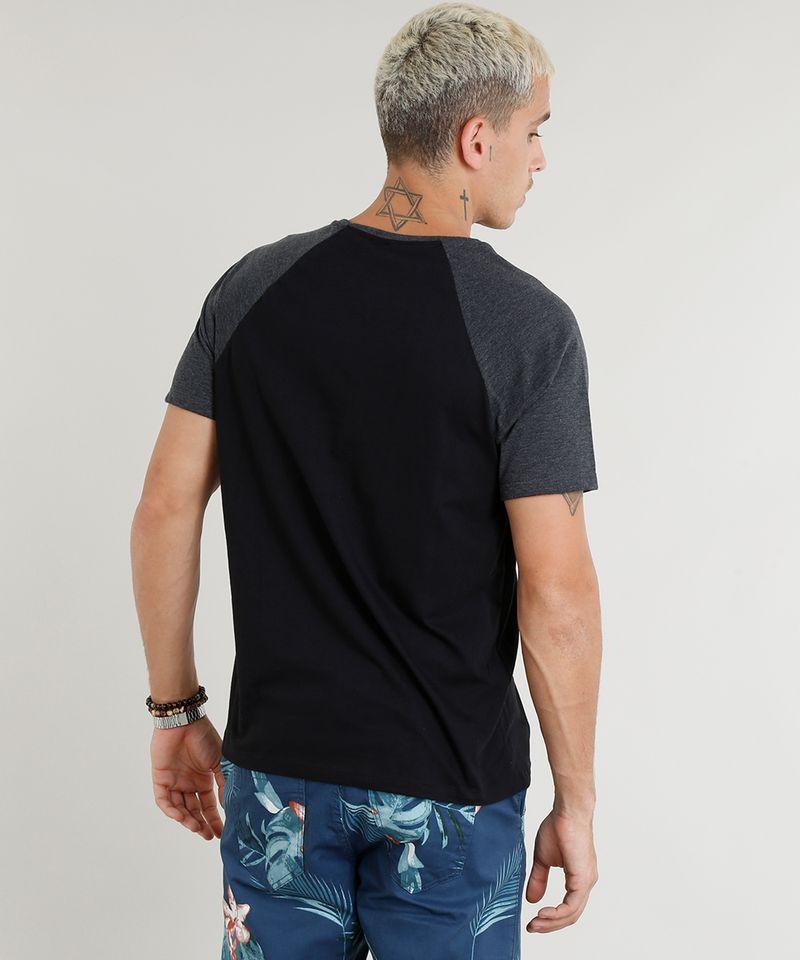 Camiseta-Masculina-Basica-Raglan-Manga-Curta-Gola-Careca-Preta-8808223-Preto_2