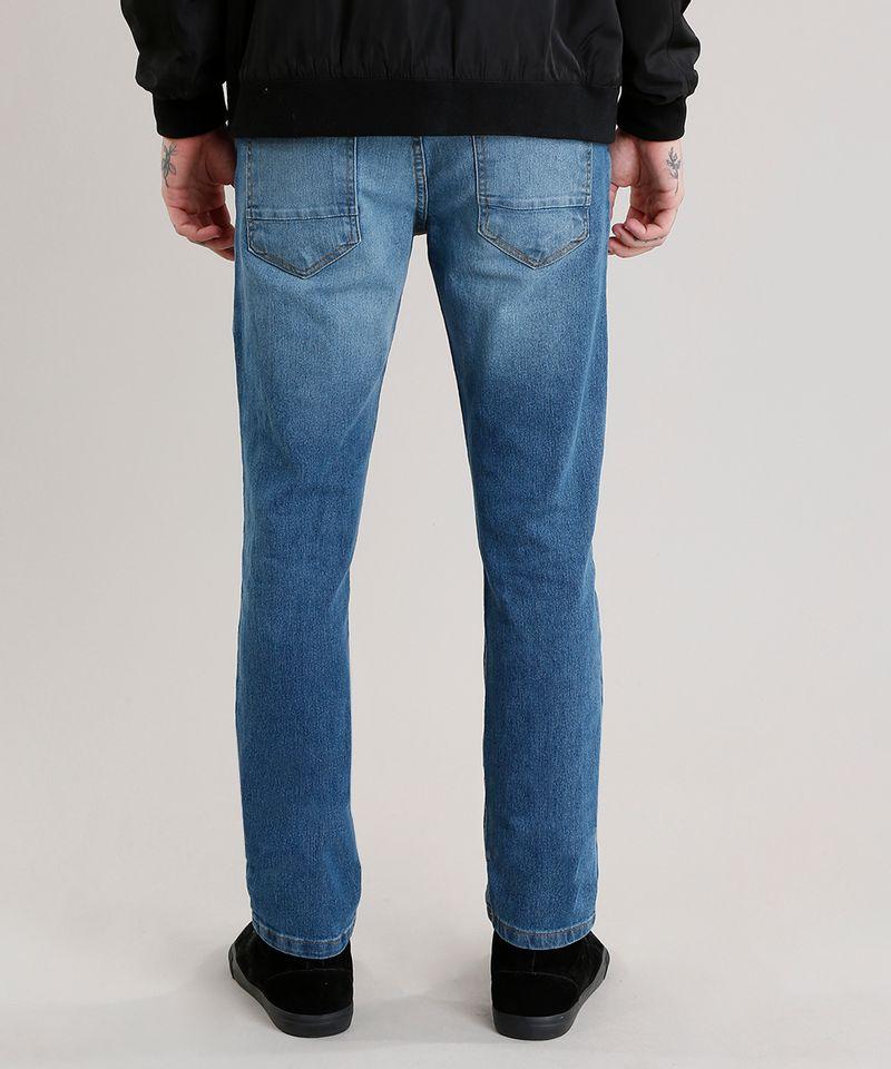 Calca-Jeans-Masculina-Slim-com-Algodao---Sustentavel-Azul-Medio-8701592-Azul_Medio_2
