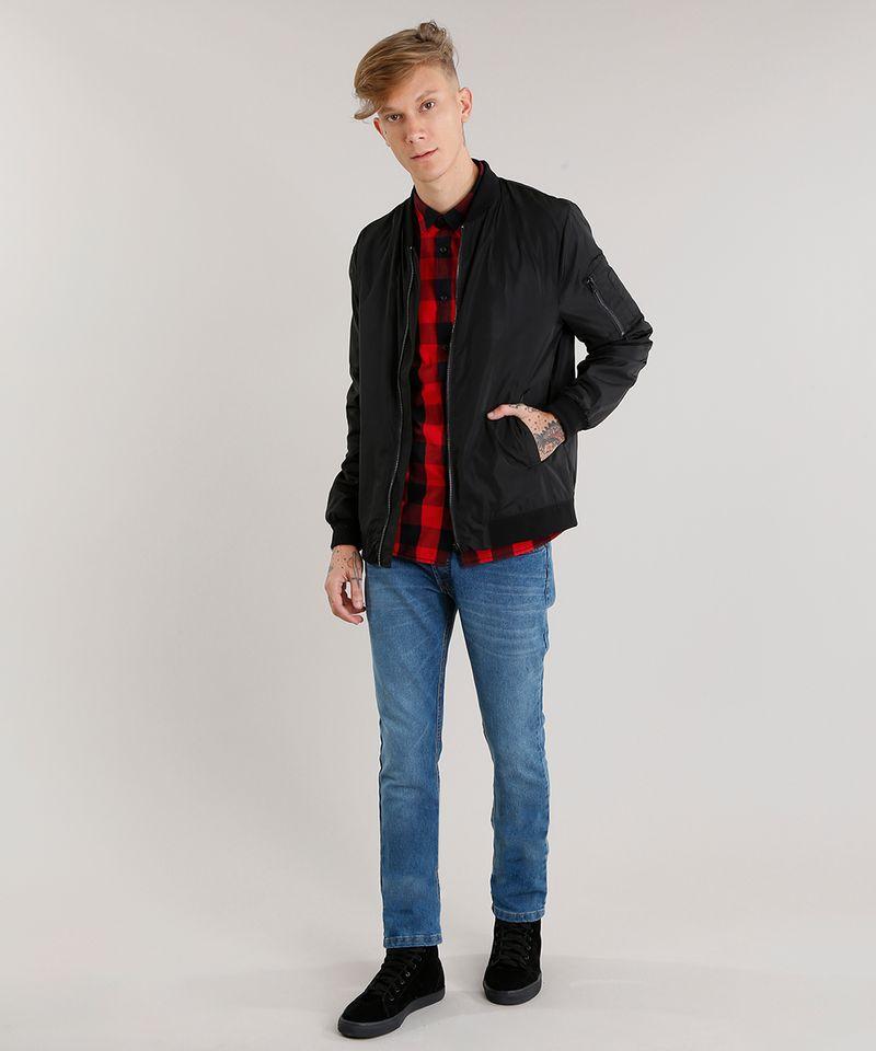 Calca-Jeans-Masculina-Slim-com-Algodao---Sustentavel-Azul-Medio-8701592-Azul_Medio_3