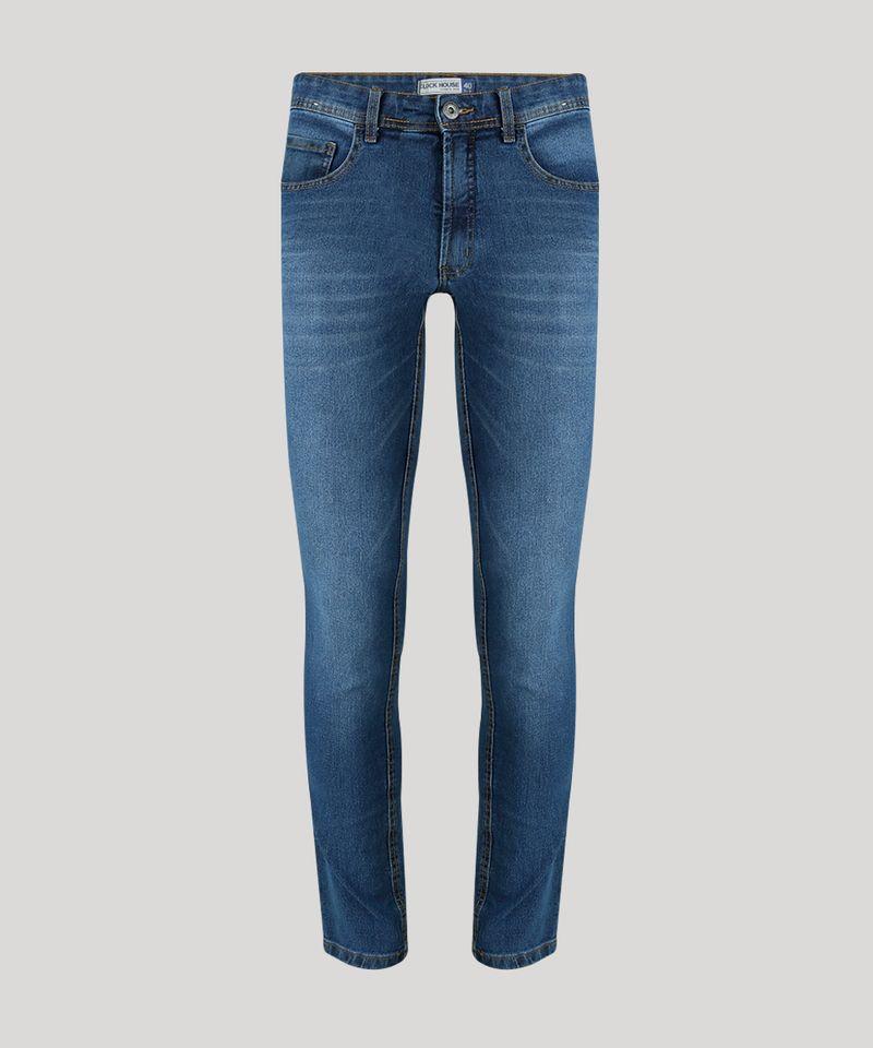 Calca-Jeans-Masculina-Slim-com-Algodao---Sustentavel-Azul-Medio-8701592-Azul_Medio_5