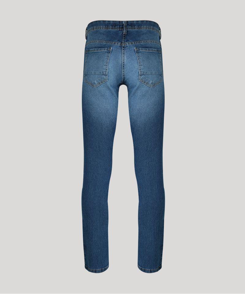Calca-Jeans-Masculina-Slim-com-Algodao---Sustentavel-Azul-Medio-8701592-Azul_Medio_6