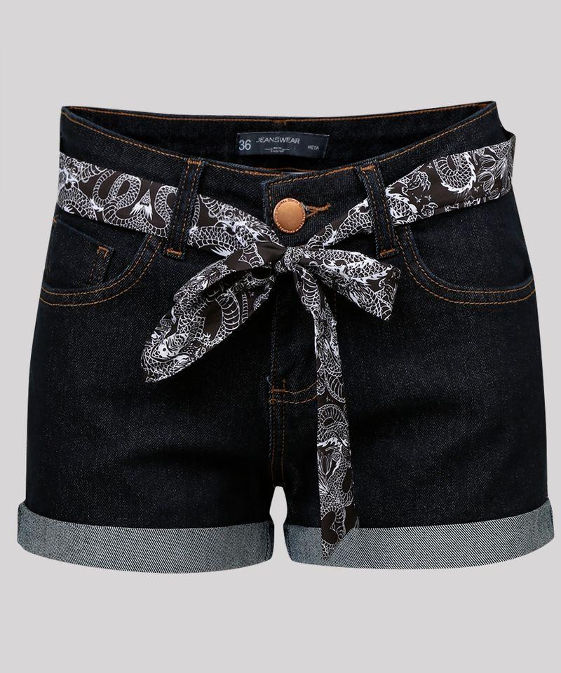 Short-Jeans-Feminino-Reto-com-Faixa-Estampada-Oriental-Azul-Escuro-9062699-Azul_Escuro_5