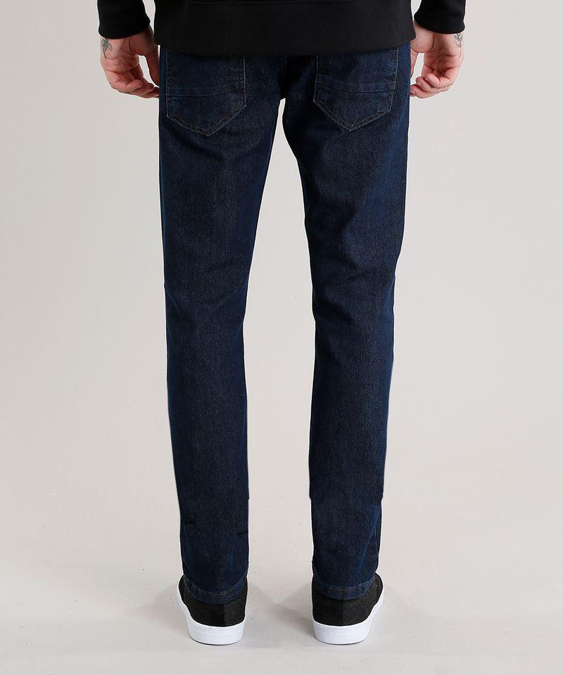 Calca-Jeans-Masculina-Slim-com-Algodao---Sustentavel-Azul-Escuro-8701555-Azul_Escuro_2