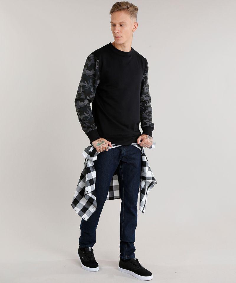 Calca-Jeans-Masculina-Slim-com-Algodao---Sustentavel-Azul-Escuro-8701555-Azul_Escuro_3