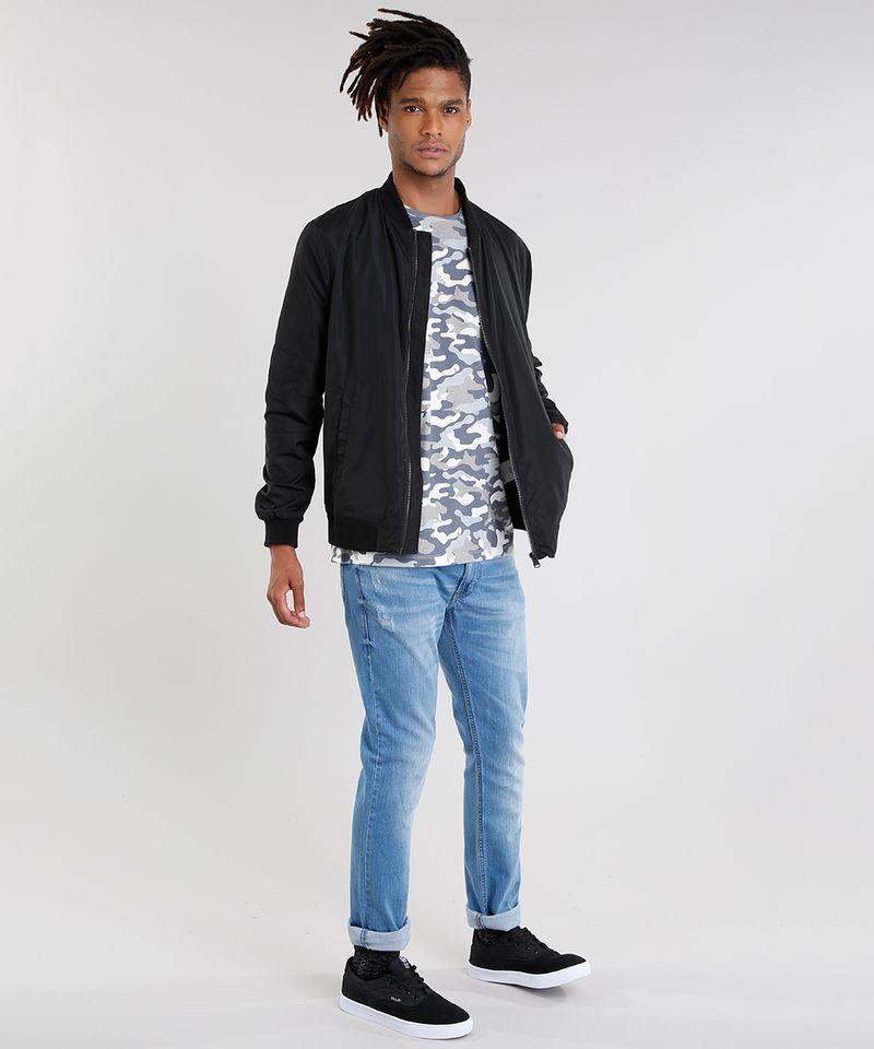Calca-Jeans-Masculina-Slim-em-Algodao---Sustentavel-Azul-Medio-8655423-Azul_Medio_3