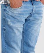 Calca-Jeans-Masculina-Slim-em-Algodao---Sustentavel-Azul-Medio-8655423-Azul_Medio_4