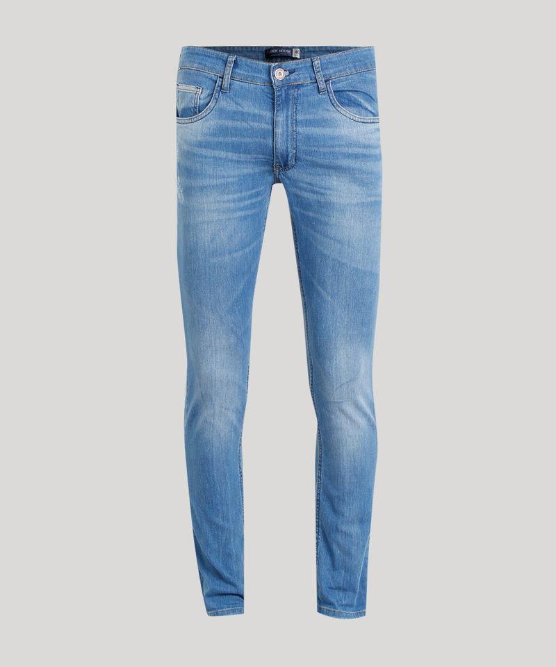 Calca-Jeans-Masculina-Slim-em-Algodao---Sustentavel-Azul-Medio-8655423-Azul_Medio_5